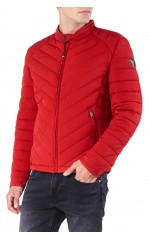 Guess Doudoune Homme Super Fitted M84L05 Rouge