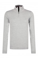 Guess Homme Pull Col Montant MASSACHUSETS M94R49 Gris