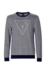 Guess Pull Homme Dooku M84R37 Gris