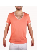 T-SHIRT JOE RETRO TEDDY CORAIL