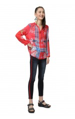 Desigual Blouse Willem Rouge 19SWBW73