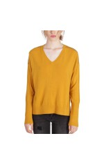 Kaporal Pull Coupe Loose Femme XERO Jaune Moutarde