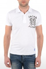 POLO JACK AND JONES SUNDAY BLANC