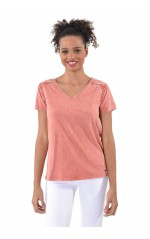 Kaporal Tee-Shirt Malt Rose
