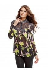 Chemise Guess Clouis Kiss & Fly Flower