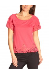 Véro Moda T-Shirt joy patila Rose  10091900