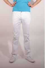 PANTALON JOE RETRO BOSM BLANC
