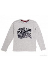 T-SHIRT REDSKINS AMICAL GRIS