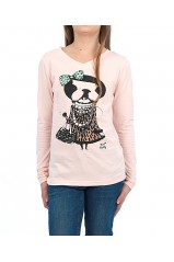T-SHIRT MOLLY BRACKEN MISS TOUTOU ROSE