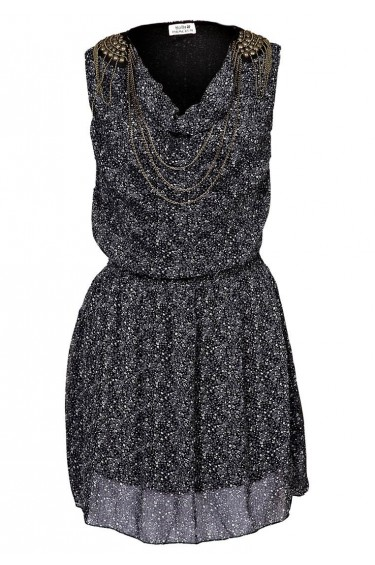ROBE MOLLY BRACKEN M386 NOIR
