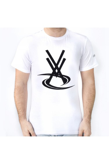 T-SHIRT VORTEX BASIC BLANC