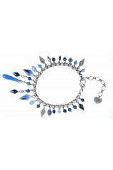 """Collier Franck Herval Collection """"Lilly Blue"""" 13-60768"""