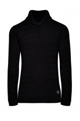 Pull Jack & Jones rail shawl neck noir