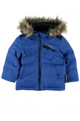 Parka bebe garçon mik mini down jkt princess blue
