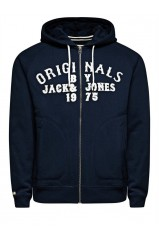 Sweat zipper Jack&Jones twilight dress blues