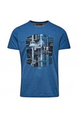 T-shirt Jack & Jones Nail True Blue