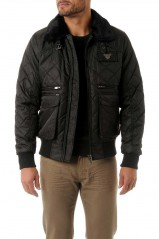 Blouson Redskins Harlem Fighter Black