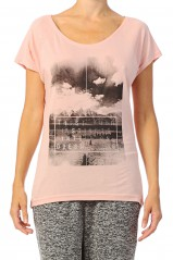 T-shirt Only Killer Silver Pink