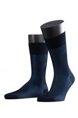 Chaussettes Falke Fine Shadow Dark Navy