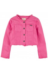 GUESS veste courte LS JACKET rose