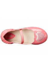 BLOCH Chaussons  bebe VALENTINE FRY Rose