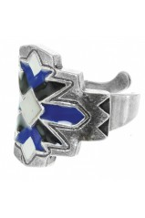 "Bague Franck Herval collection ""Kilim"" 19-60882"