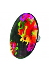 "Bague XL Franck Herval collection ""Flora"" 19--60813"