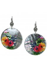 "Boucles d'oreilles Franck Herval collection ""Floral"" 12--61728"