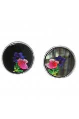"Boucles d'oreilles Franck Herval collection ""Floral"" 12--61721"