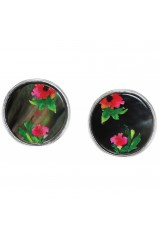 "Boucles d'oreilles Franck Herval collection ""Floral"" 11--61721"