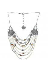 "Collier Franck Herval collection ""Opaline"" 15--60850"