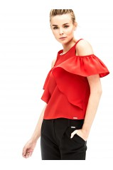 Guess Top SS ELIS Rouge