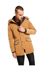 Guess Parka Homme Technical Camel