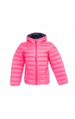Guess Doudoune Fille J71L11 REAL DOWN BOMBER_CORE Rose