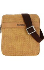Guess Sacoche Homme NEW MILANO MINI Brun