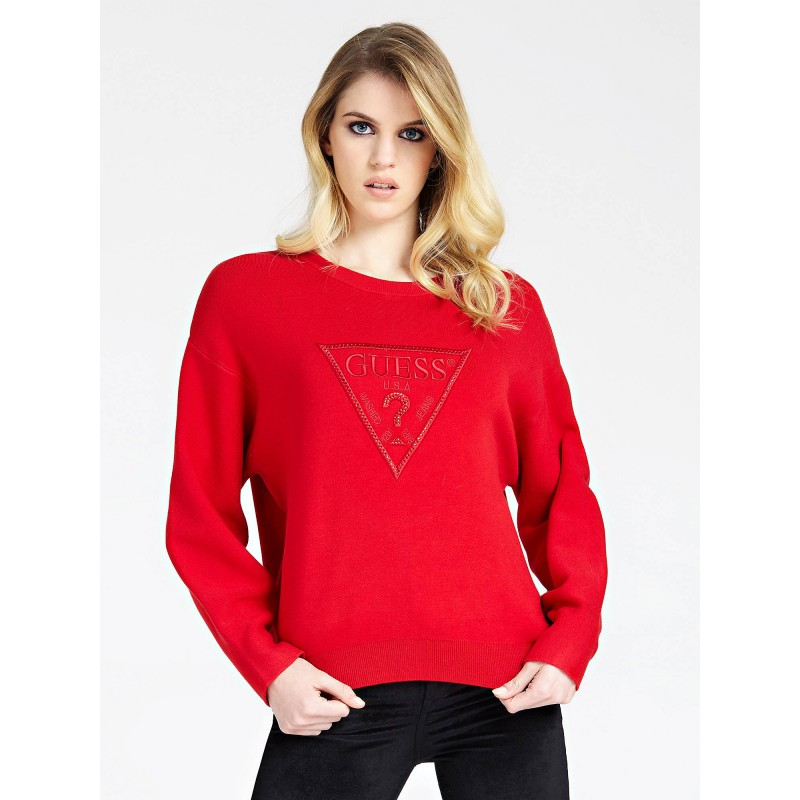 Guess Pull Femme W94R0K Magda Rouge